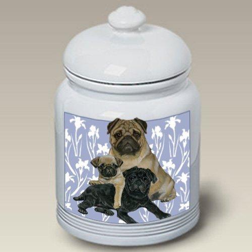 Pugs - Best of Breed Treat Jars by Bob Martin
