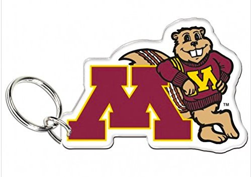 (NCAA Official University of Minnesota Gophers Premium Acrylic Key Ring)