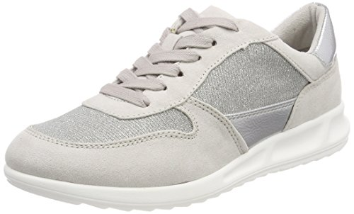 Sneakers Glam Tamaris Com top Women''s Grey 23625 Low silv qpvwOIp6