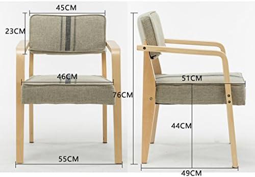 Chaise de salle à manger SLL- Home moderne minimaliste chaise de bureau moderne (couleur : A)