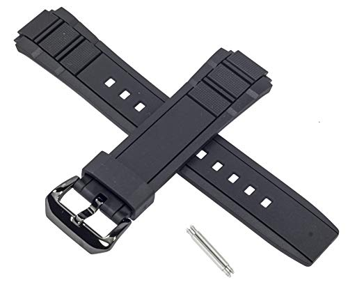 Genuine Casio Watch Strap Band for EFR-515PB EFR 515PB 515 Black