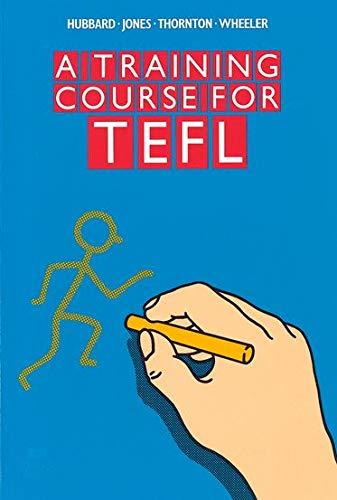 Teacher training. A Training Course for TEFL (Material de Teacher Training)