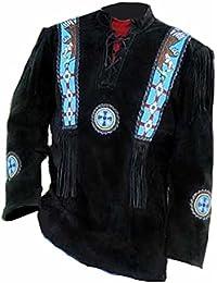 Mens Handmade Indian Eagle Shirt Tribal & Western Impression