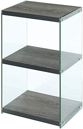 Convenience Concepts SoHo 3 Tier Tower Bookcase