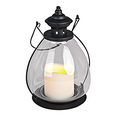 The Gerson Companies Gerson Everlasting Glow School House Battery Operated LED Candle Lantern