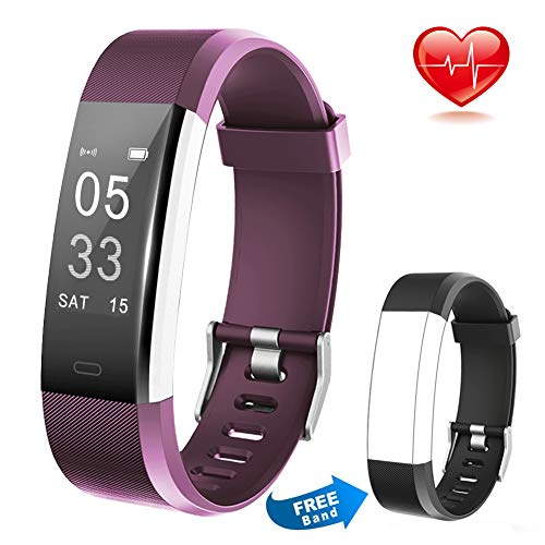 Fitness Tracker HR Activity Tracker Calorie Step Counter Pedometer Odometer,...
