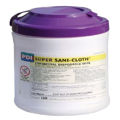 MCK51721100 - Professional Disposables Surface Disinfectant Super Sani-Cloth Wipe Manual Pull Disposable