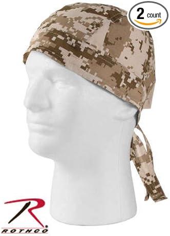 Headwrap digital Woodland bandana pañuelo gorro Biker