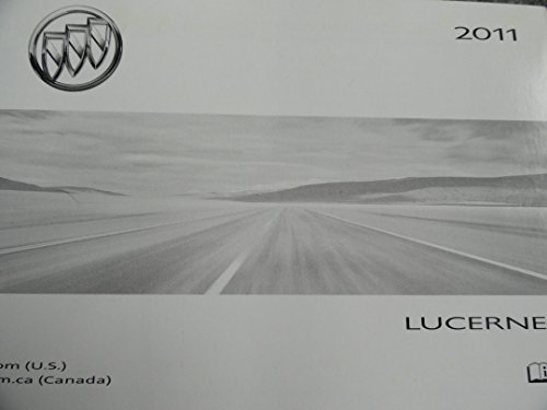 2011 buick lucerne owners manual - 1