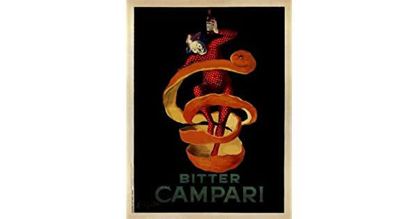 Amazon.com: Bitter Campari Cartel Imprimir Por Leonetto ...