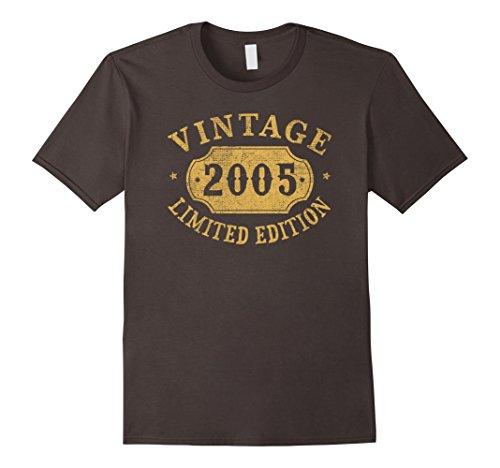Mens 2005 13 years old 13th B-day Limited Birthday Gift T-Shirt Medium Asphalt