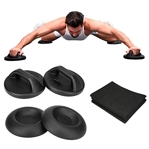 Mroisfrolg Creative Multi Sliders Sport System(Set), Core Muscle Training, with Protective Floor Mat, for Home Gym Training