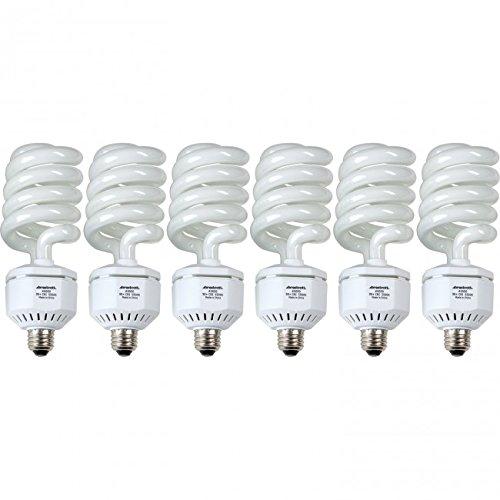 Westcott 0061 6-Pack 50-Watt Daylight Fluorescent Lamps by Westcott