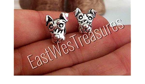 5b537493f Amazon.com: Schnauzer Scottish Scottie West Highland terrier dog charm  bead- For charm bracelet: Handmade
