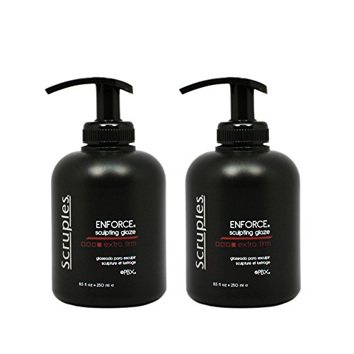 (Scruples Enforce Sculpting Glaze Extra Firm 250 ml / 8.5 oz Pack of 2)