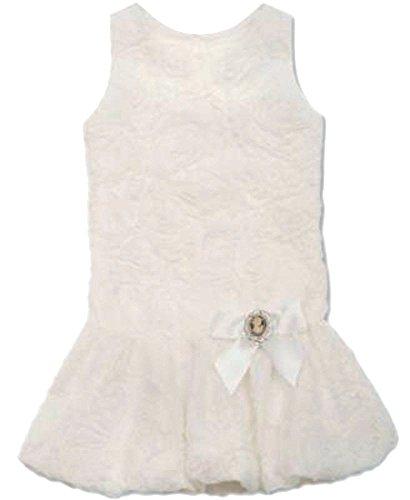 (Rare Editions Little Girls Drop-waist Souta Ivory 5 )
