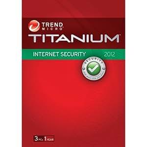 Trend Micro Titanium Internet Security 2012 - 3 Users