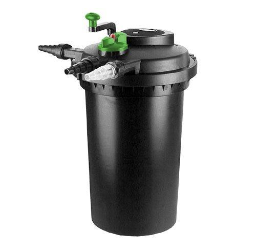 Aqua-Tech 15000 Teichfilter Druckfilter + UV 24W 15000 Liter