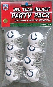 RIDDELL NFL TEAM HELMET PARTY PACK - Indianapolis Colts