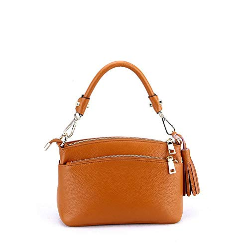 Bag Shell Hongge Handbag Lady Women's Leather B Cross Oblique Bag Cowhide Single Shoulder Layer Baotou U7Og7