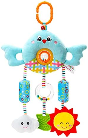 Baby Infant Cartoon Animal Hanging Bell Rattle Teether Sound