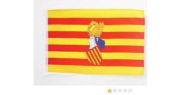 AZ FLAG Bandera del Consejo del PAÍS Valenciano 45x30cm - BANDERINA Antigua Comunidad Valenciana - Valencia 30 x 45 cm cordeles: Amazon.es: Hogar