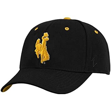 ZEPHYR MEN'S WYOMING COWBOYS DHS ZWOOL FITTED HAT