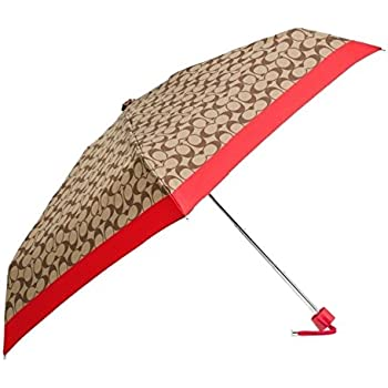 Coach F63365 Signature Mini Umbrella