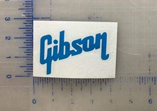 Gibson Vinyl Decal 2.5 3.5 4.5 5.5 Guitar Case Laptop Window Bumper Music Electric Acoustic Bass Band