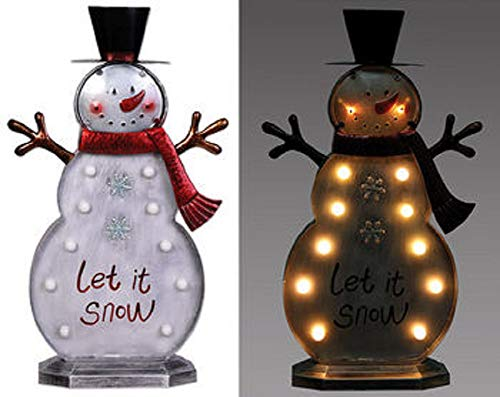Led Snowman Outdoor Lights Figures in US - 5