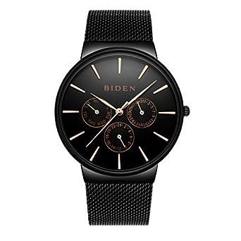 ad19d579b2 Amazon | ウォッチ ファッション 新型 黒タイプ オシャレ メンズ&レディース 腕時計 | 腕時計 | 腕時計 通販