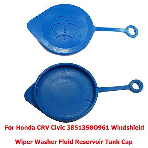 (For Honda CRV Civic 38513SBO961 Windshield Wiper Washer Fluid Reservoir Tank Cap)