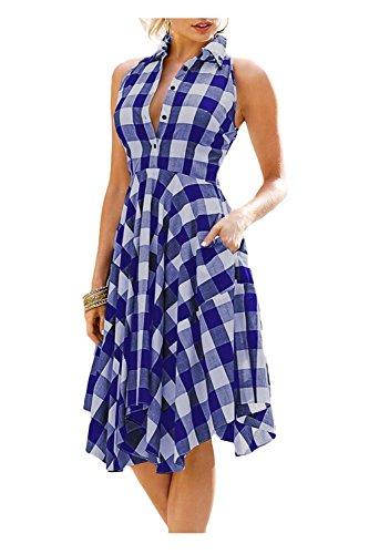 Pretty Blue Dress - 4