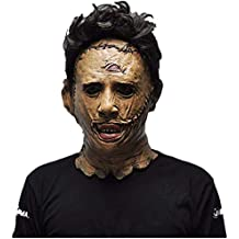 The Texas Chainsaw Massacre Leatherface Masks Scary Movie Cosplay Halloween Costume Props Toys