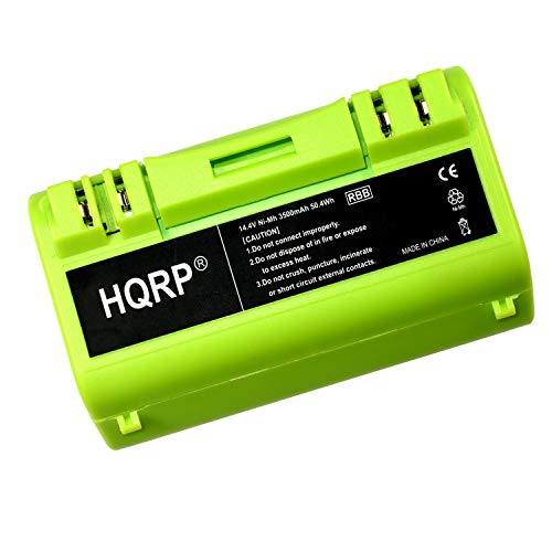 (HQRP Green Line APS Battery compatible with iROBOT Scooba 330/350 / 380/5930 / 5800/5900 Series [Vacuum Cleaning Robot] plus HQRP Coaster)