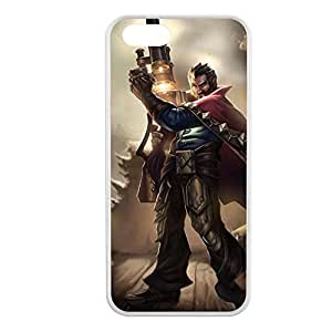 Graves-002 League of Legends LoL case cover for Apple iPhone 5/5S - Hard White