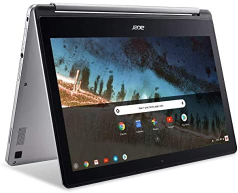 Acer R13 13.3in Convertible 2-in-1 FHD IPS Touchscreen Chromebook - Intel Quad-Core MediaTek MT8173C 2.1GHz, 4GB RAM, 64GB SSD, Bluetooth, HDMI, Chrome OS (Renewed)