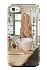 EgAdNyh2398xXeId David Nuwayhid Luxury Contemporary Double Vanity Bathroom Durable Iphone 4/4s Tpu Flexible Soft Case
