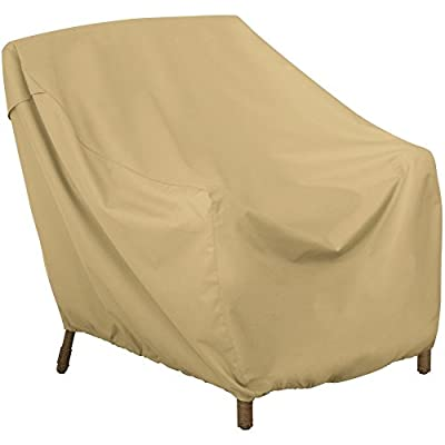 Classic Accessories Terrazzo Patio Chaise Lounge Chair Cover