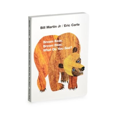 Brown Bear, Brown Bear. What Do You See? Board Book By Eric Carle -