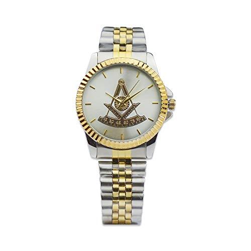 Past Master Fold Over Masonic Wrist Watch ()