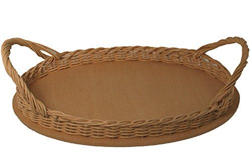 Serving Tray Basket Weaving Kit Size 8x12 V.I. Reed & Cane Inc. 812TRAY