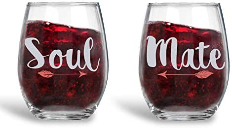 Soul Mate Stemless Anniversary Weddings product image