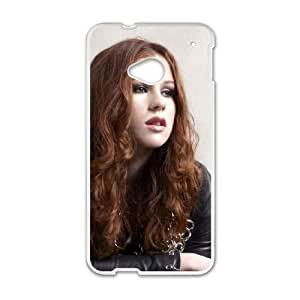 HTC One M7 Cell Phone Case White KatyB NLL How To Make Your Own Cell Phone Case