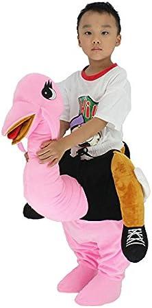 rushopn - Disfraz de Mascota de Avestruz Rosa para niños y niñas ...