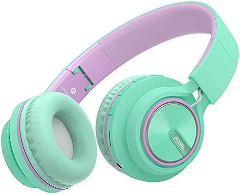 ACURE AC01 Auriculares inalámbricos Bluetooth Auriculares plegables con micrófono HD / Tarjeta TF / Modo con cable desmontable para PC TV Teléfono ...