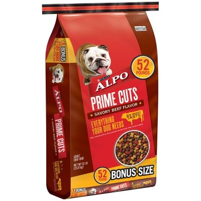 Purina 011132165239 Nestle Care Pro Alpo Prime Cuts dry pet food, 52 lb