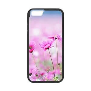 [Funny Series] IPhone 6 Case Flower 16, Iphone 6 Case Okaycosama - Black
