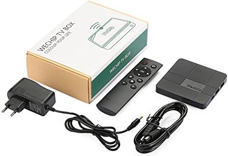 Auntwhale Media Smart TV Box Soporte WiFi 1080P 4K Android 7.1 H.265 1GB/RAM + 8GB/ROM Tarjetas externas Aplicaciones Web: Amazon.es: Electrónica