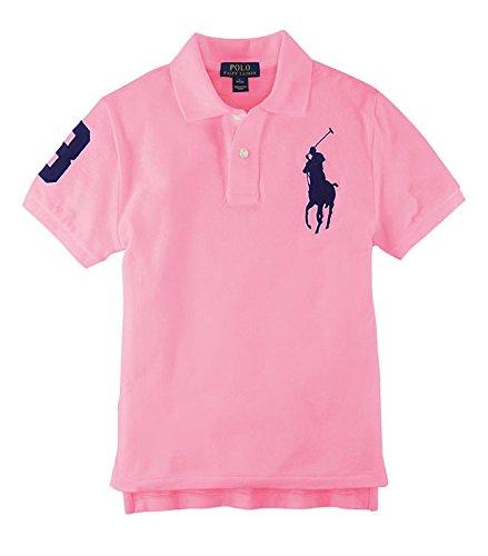 シンカン厳しいジャニス(ポロ ラルフローレン) POLO RALPH LAUREN ポロシャツ RL60001SL 【ボーイズサイズ】 ビッグポニー 半袖 鹿の子 ゴルフ 《小さめサイズ》 並行輸入品